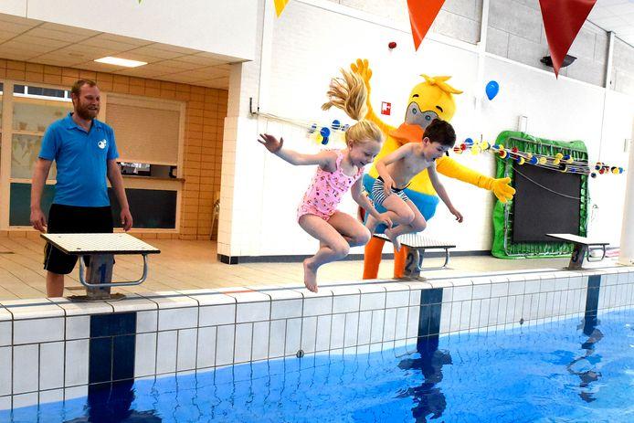 Sinds 16 maart is het Batensteinbad weer open voor kinderen