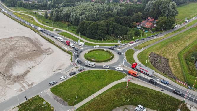 Verkeerschaos door afsluiting A6 bijna voorbij: automobilisten negeerden omleiding