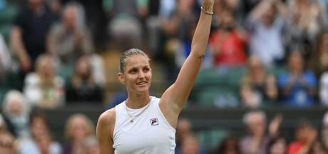 Wimbledon: Karolina Pliskova se défait de Golubic et se hisse dans le dernier carré