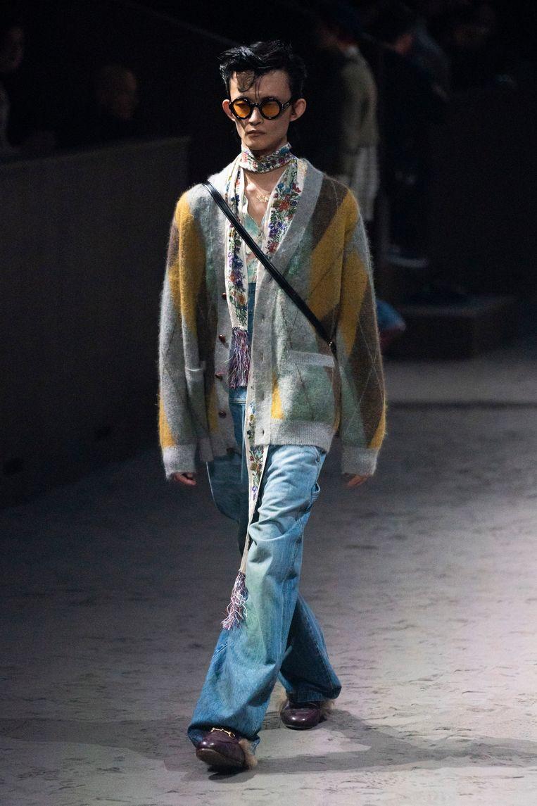 Gucci, winter 20/21. Beeld Imaxtree