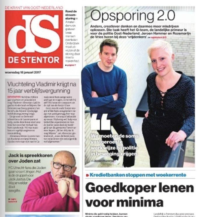 De digitale krant van de Stentor.