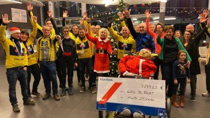 """VIDEO. 157 kilometer fietsen met rolstoelfiets naar De Warmste Week: """"Fantastisch dat KWB onze rolstoelfiets sponsort"""""""