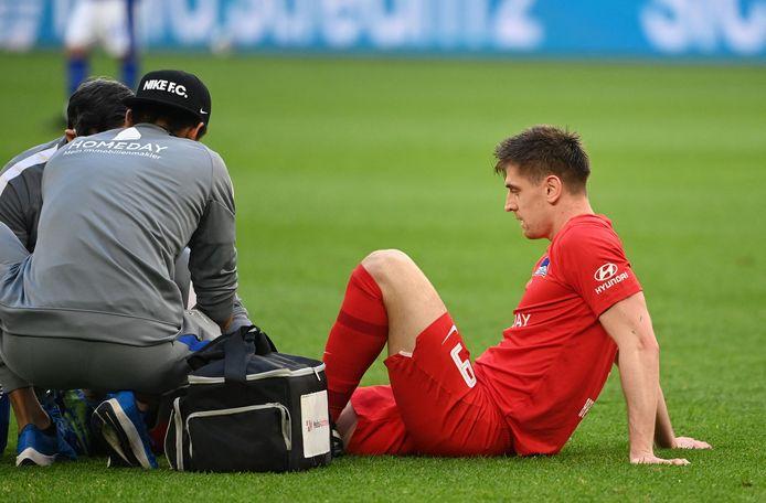 Krzysztof Piatek is er vanwege een zware kwetsuur niet bij op het EK voetbal.