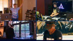 Dimitri Vegas en Lost Frequencies spelen Tomorrowland-set live vanuit hun kot