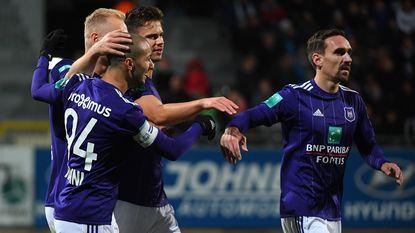 Herbeleef hoe Anderlecht bibberde op het veld van Eupen, maar toch drie punten pakt