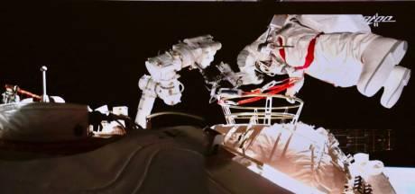 Nouvelle sortie dans l'espace pour deux astronautes chinois