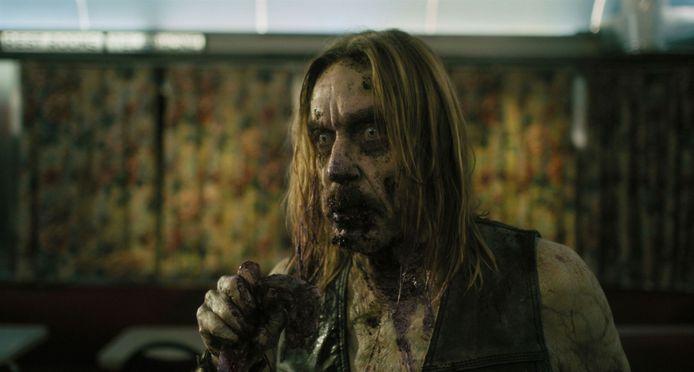 """Iggy Pop en zombie dans """"The Dead Don't Die""""."""