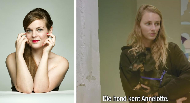 Astrid Stockman / Annelotte met Isidoor Beeld HUMO/Play4