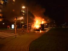 Onrustige avond in Gouda: drie auto's in vlammen op