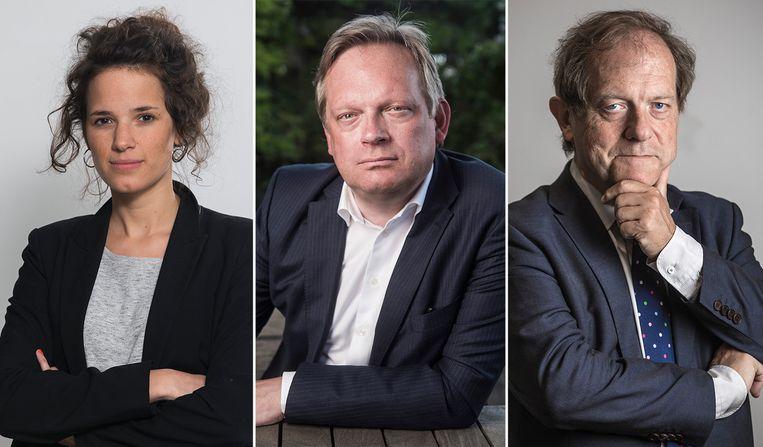 Isolde Van den Eynde, Noël Slangen en Rik Torfs.