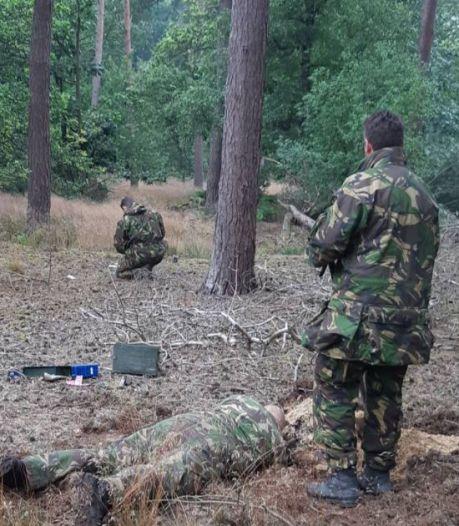 Duitse granaat tot ontploffing gebracht in bos bij Best