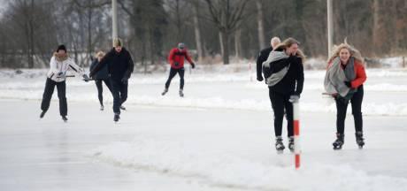 Coronaproof schaatsen op de IJsbaan Zenderen: volop ruimte op een fraaie piste