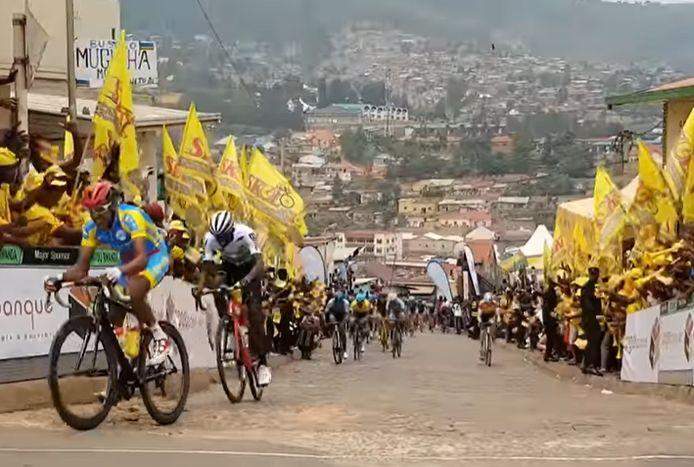 Beeld uit de Tour du Rwanda.