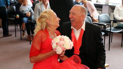 Eerste 'Hotel Römantiek'-huwelijk: Rosa en Jos stappen in het huwelijksbootje