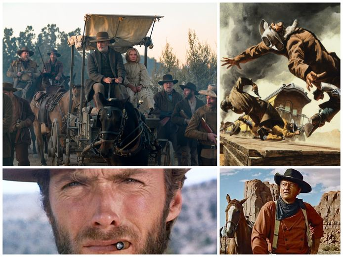 News of the World, Once Upon a Time in the West, The Good The Bad and The Ugly en The Searchers.