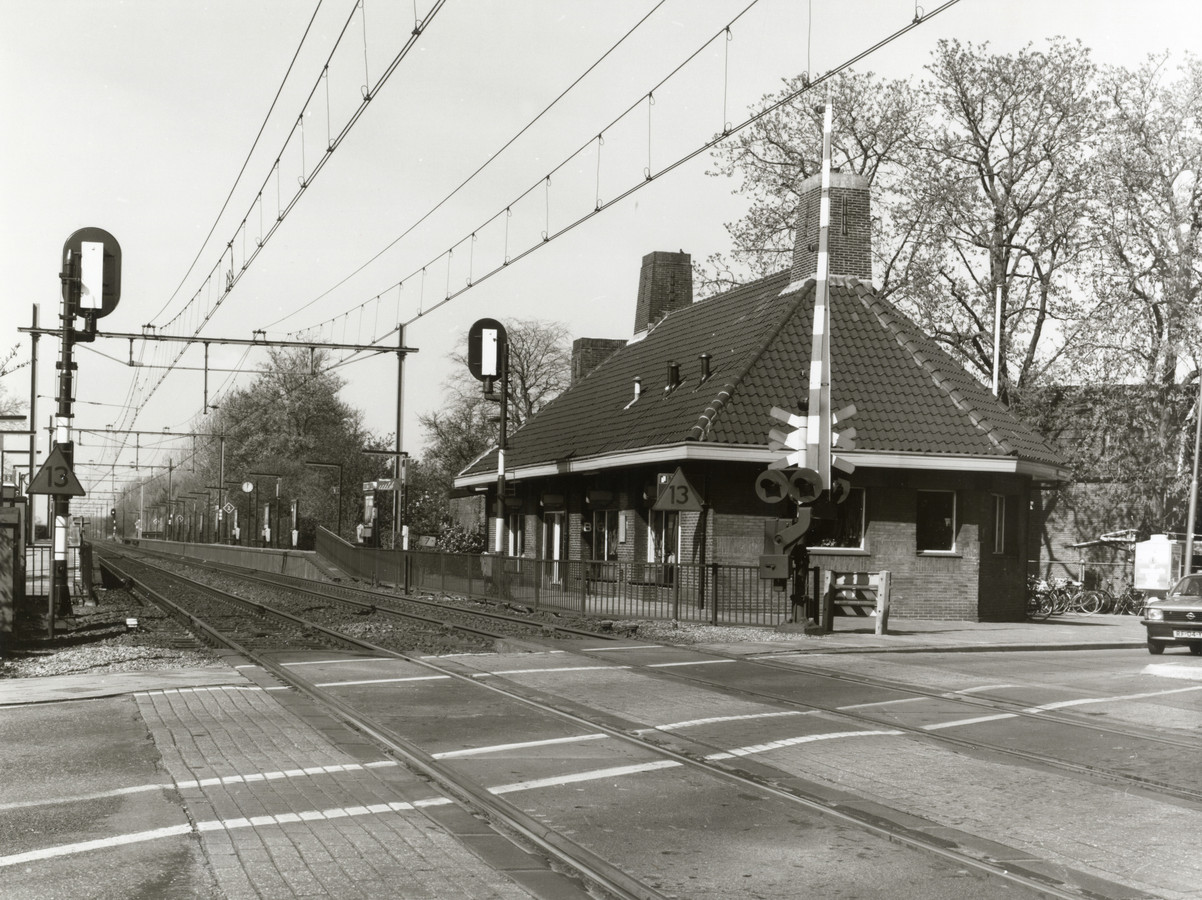 Station Vleuten in 1995.