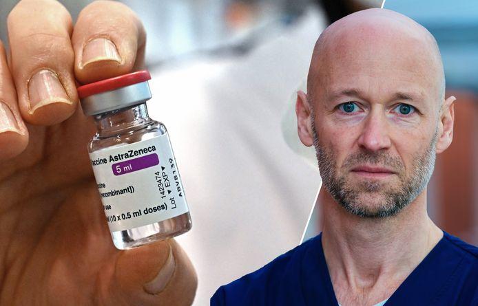 In de heisa rond AstraZeneca ziet Geert Meyfroidt een kans om onze vaccinatiecampagne te versnellen