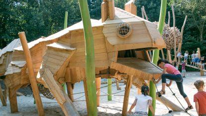 """""""Dit is wel héél leuk"""": nieuwe speeltuin geopend in nieuw speelbos in stadspark"""