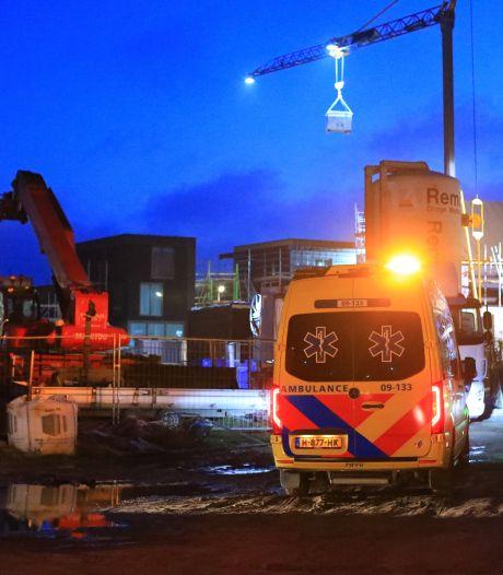 Bouwvakker zwaargewond op bouwterrein in Amersfoort