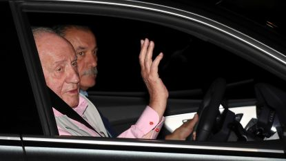 Spaanse oud-koning Juan Carlos krijgt drie bypasses tijdens hartoperatie