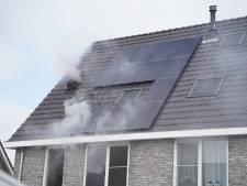 Flinke rookontwikkeling bij zolderbrand in Barneveld, wasmachine mogelijke oorzaak