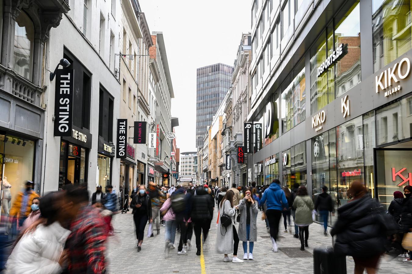 La rue neuve à Bruxelles/ Photo prétexte