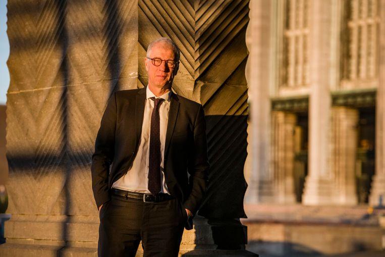 Hans Bruyninckx. 'De klimaatmodellen tonen een zorgwekkende toekomst voor kinderen die nu geboren worden.' Beeld ID FRED DEBROCK