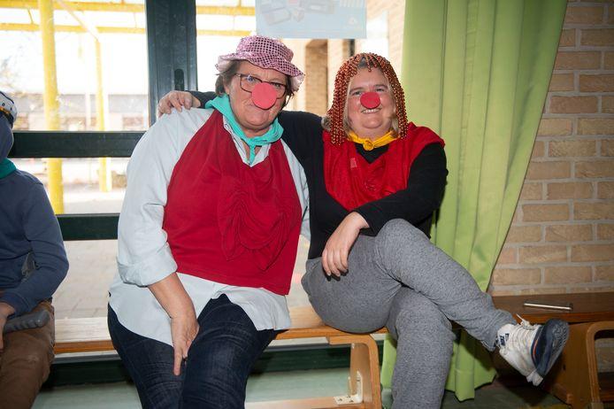 Basisschool Impuls koppelde hun ankerdag aan Rode Neuzen Dag