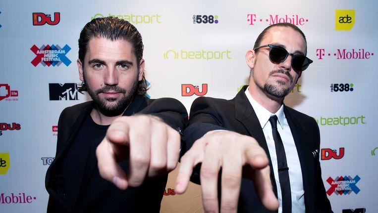 Dimitri Vegas & Like Mike. Beeld ANP
