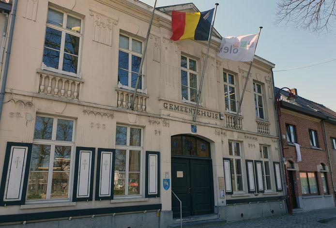 Het gemeentehuis van Olen.