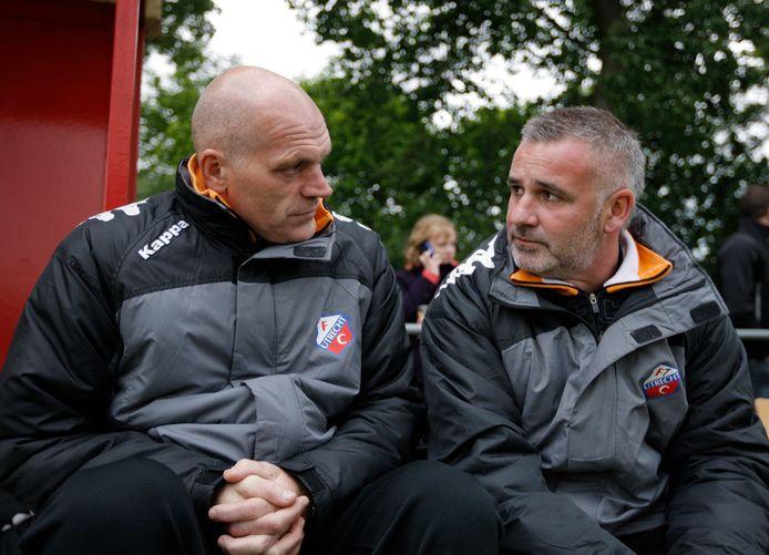Jan Wouters en assistent Rob Alflen.