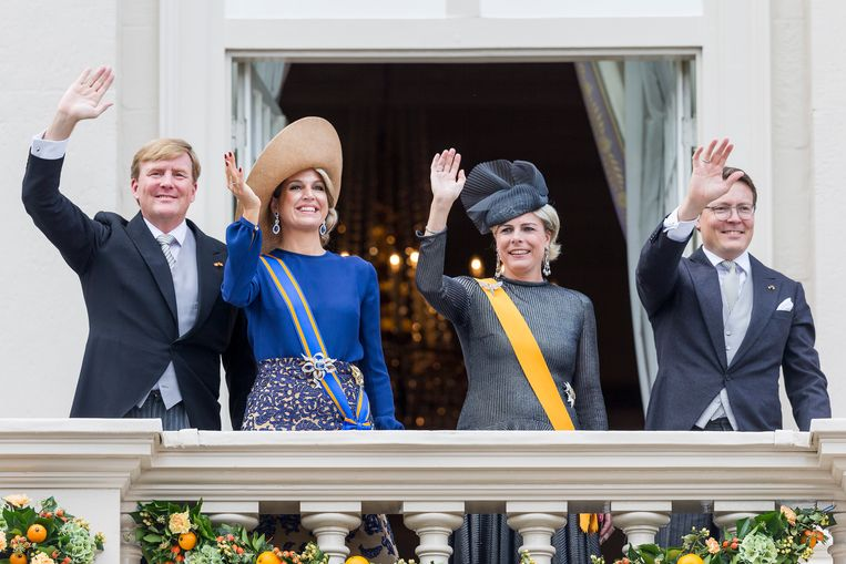 Ook dit jaar geen balkonscène op Prinsjesdag om coronamaatregelen Beeld BrunoPress