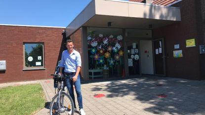 Fietsend onderwijspersoneel gemeentescholen Evergem krijgt hogere fietsvergoeding