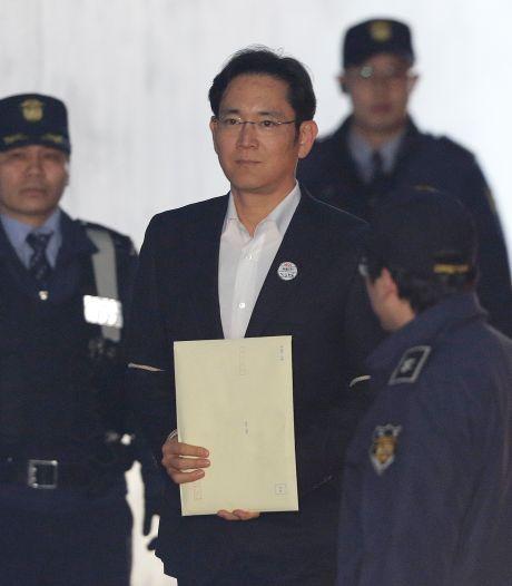 Samsung-kopstuk weer op vrije voeten