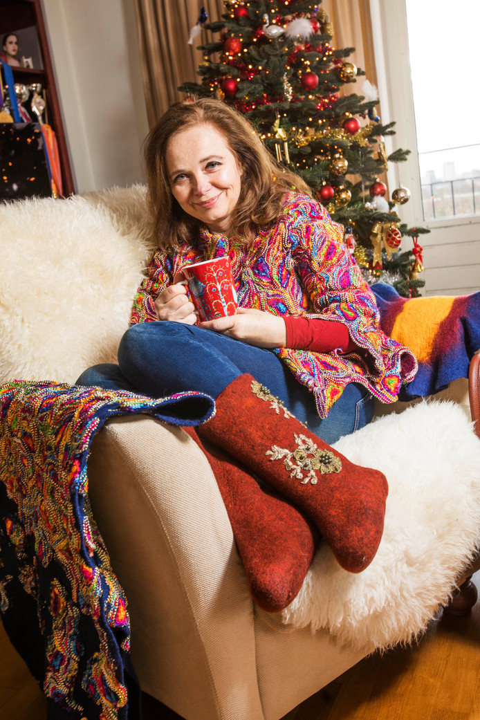 Larissa Anissimova over de vilten laarzen die ze maakt: ,,Het loopt een beetje uit de hand.''