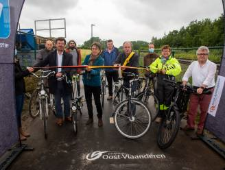 Stukje fietssnelweg in Moortsele brengt Gent en Zottegem weer wat dichterbij