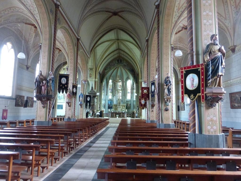 De laatste tijd bleven de kerkbanken grotendeels leeg.