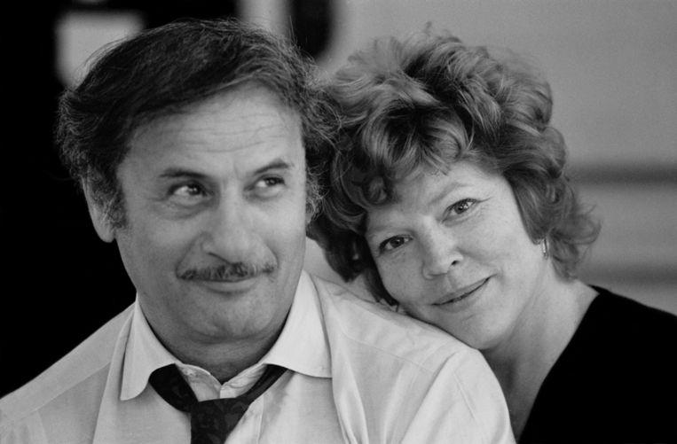 Anne Jackson en haar echtgenoot Eli Wallach.