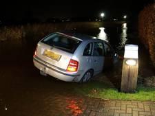 Bizar ongeluk in Hasselt: straat onder water blijkt sloot