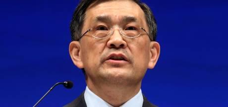 Topman Samsung vertrekt tijdens 'ongekende crisis'