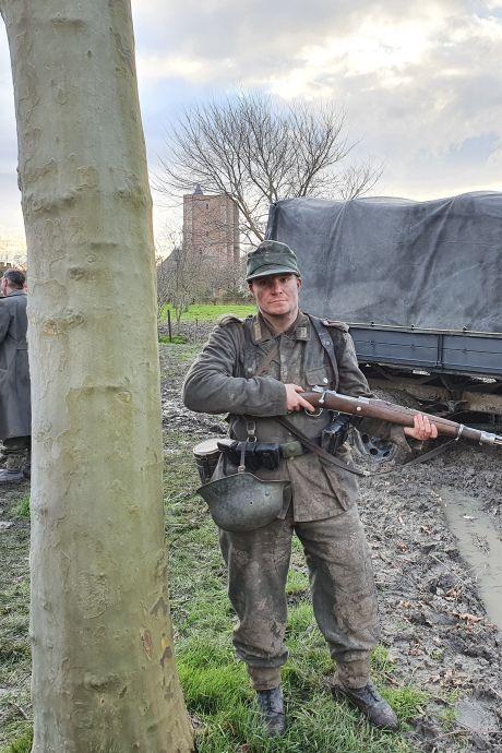 Vlissingse figurant 'turft' zichzelf zeven keer in Slag om de Schelde, 'ik had toch een te Duitse kop'
