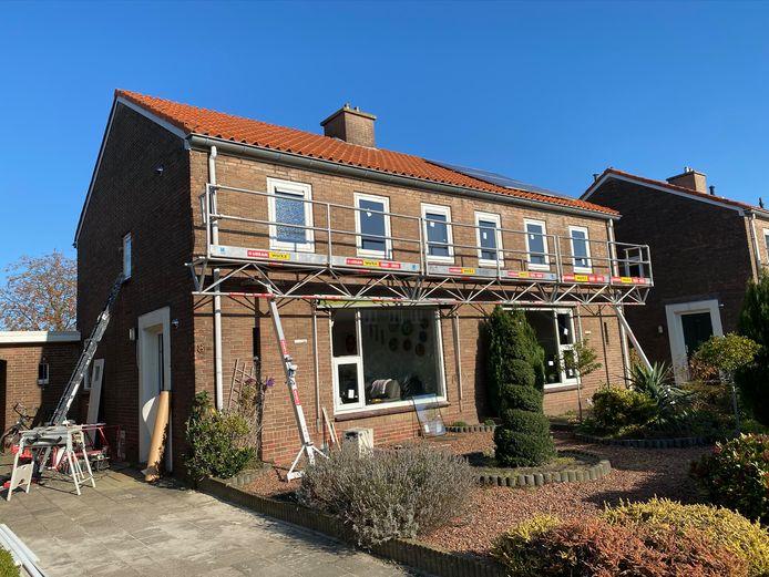 De sociale huurhuizen van Domijn in Enschede worden één voor één verduurzaamd volgens een wijkgerichte aanpak.