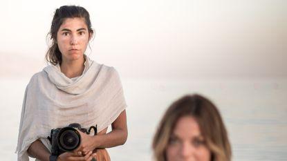 Fotografe van Miss België is een non