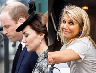 ROYAL BITS. Europese royals betuigen steun aan ons land en koningin Máxima kruipt op blote voeten in een truck