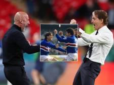 Mancini en Vialli, kameraden op Italiaanse bank: 'Voetbal is geen oorlog, maar een spel dat je speelt met vrienden'
