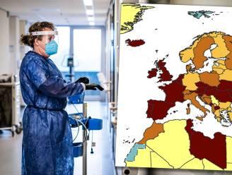 Coronakaart kleurt nog roder: België nu op één na slechtste leerling van Europa