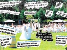 Apeldoorn zit fout in trouwtwist. Boze ondernemer wil genoegdoening na onrechtmatige behandeling