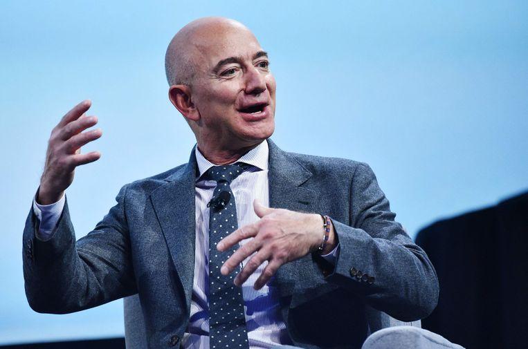 Bezos stopt volgende maand als bestuursvoorzitter bij Amazon, maar stilzitten lijkt nog niet aan de orde. Beeld AFP