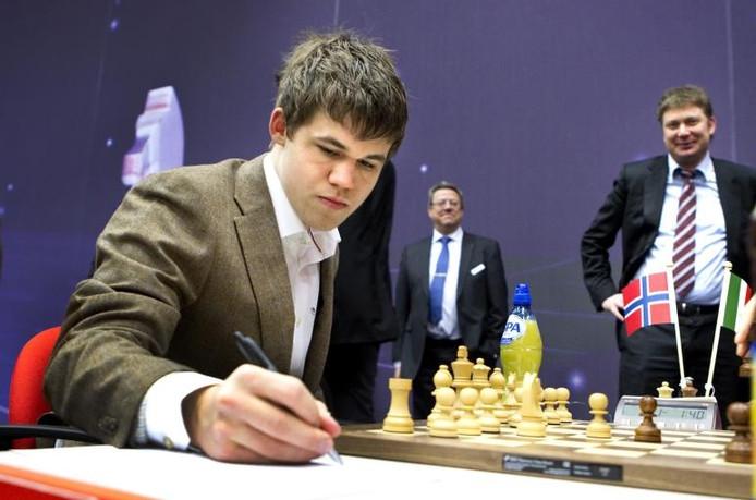 Archief: De Noor Magnus Carlsen