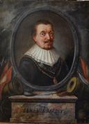 Maarten Tromp zoals hij te zien is in het Briels museum.